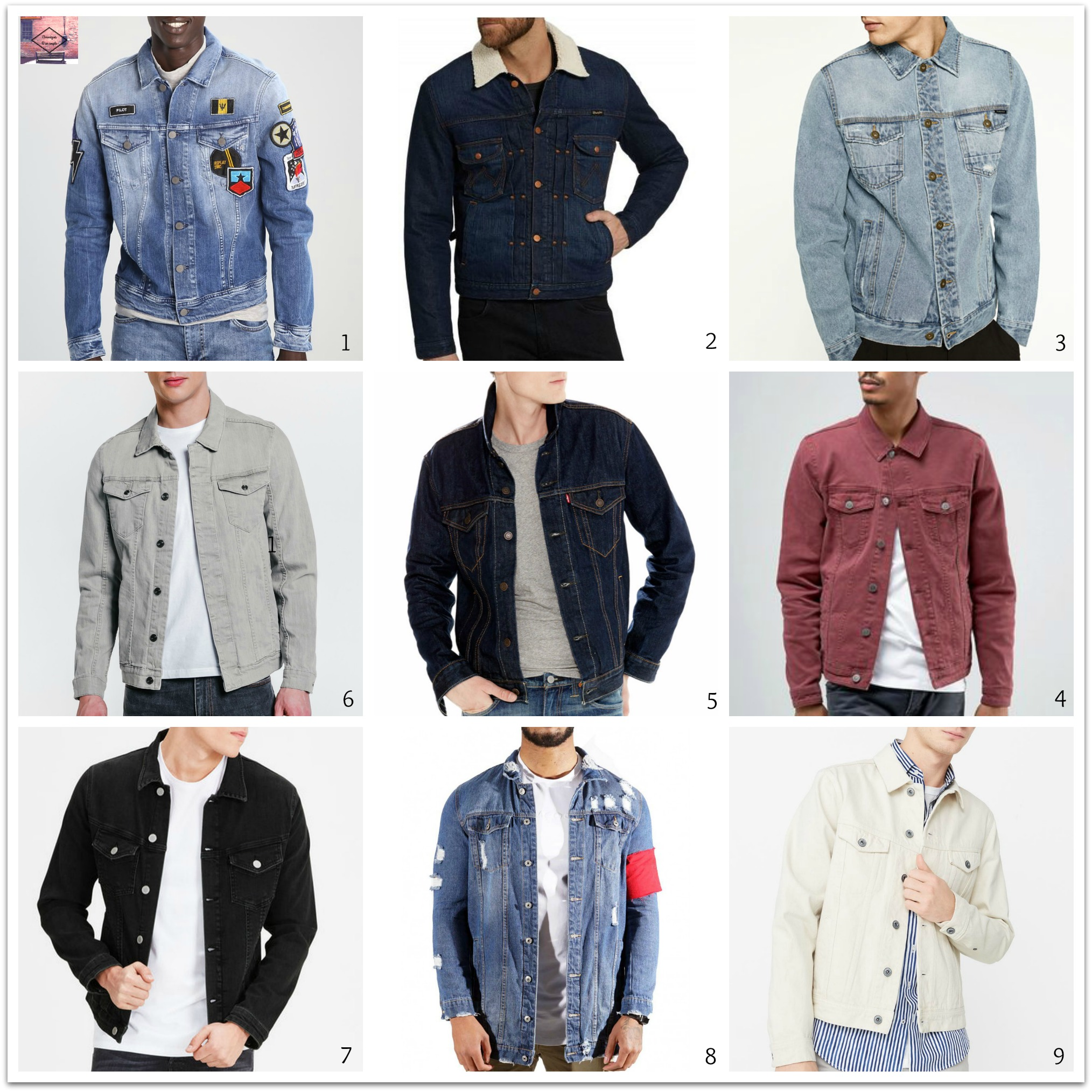 l'intemporelle veste en jean pour homme