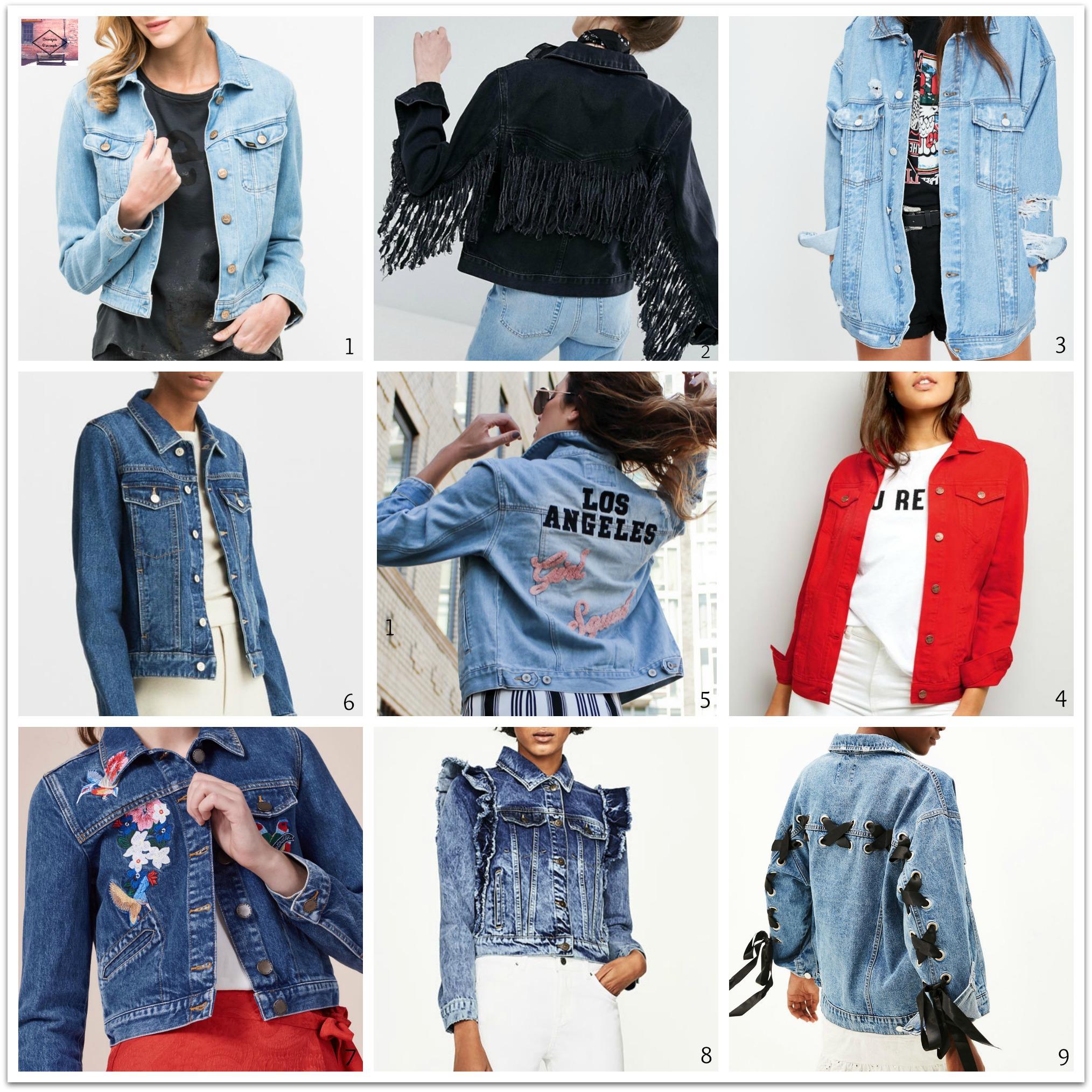 l'intemporelle veste en jean pour femmes