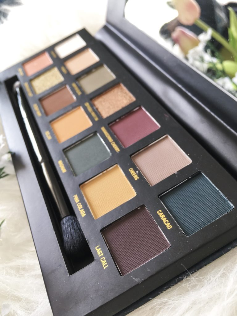 W7 on the rocks palette de maquillage